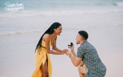 Surprise Engagement Photoshoot in Macao Beach – Chae & Blake