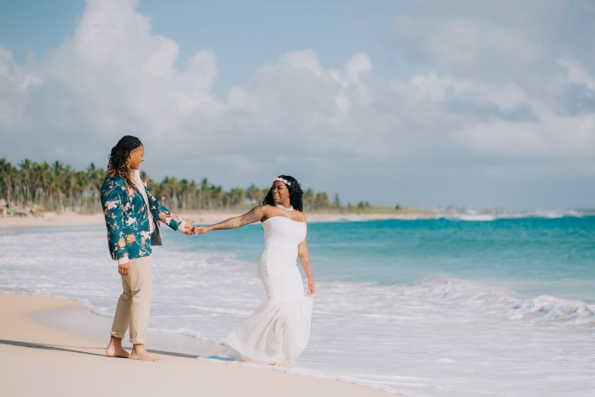 Same Sex Wedding Photoshoot in Punta Cana