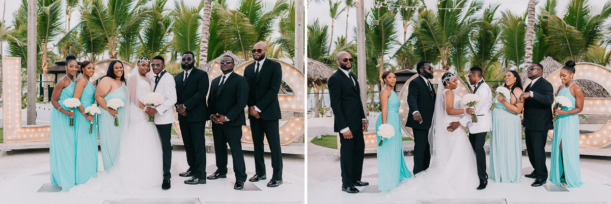 kukua wedding in punta cana