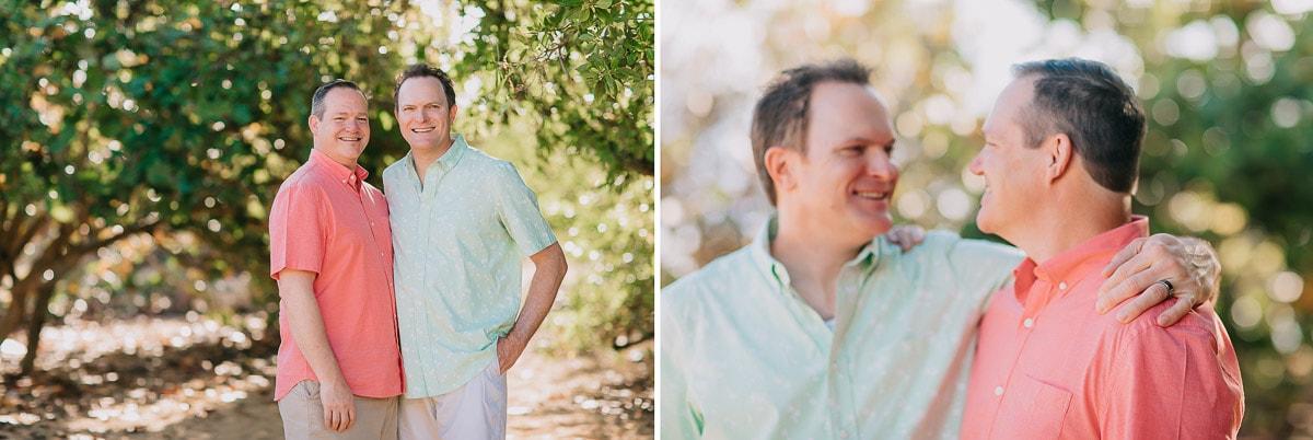 same-sex honeymoon photoshoot