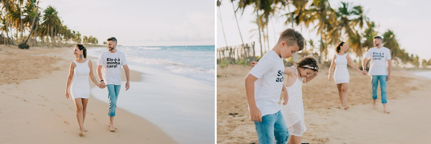 family photoshoot in punta cana