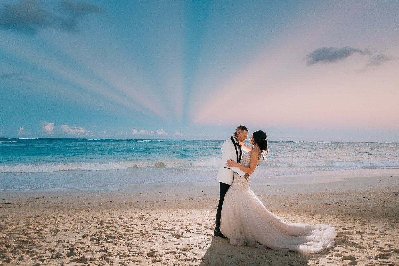 Wedding at Kukua Beach Club - Alina & Chris