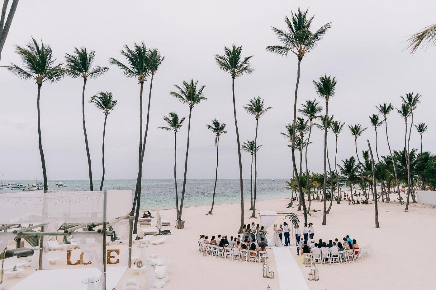 jellyfish wedding in punta cana