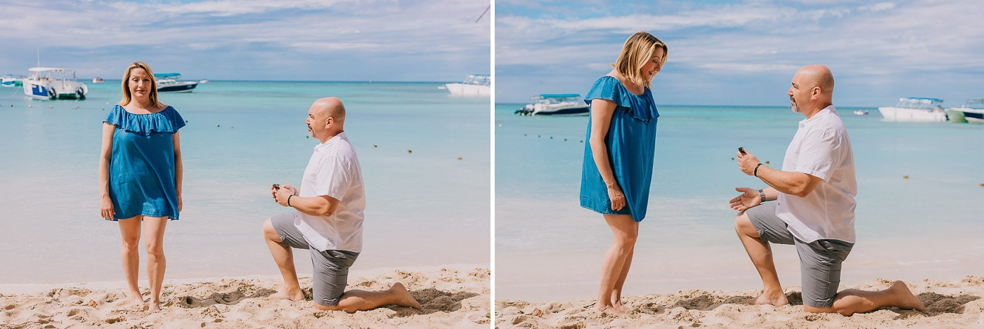 surprise proposal photoshoot