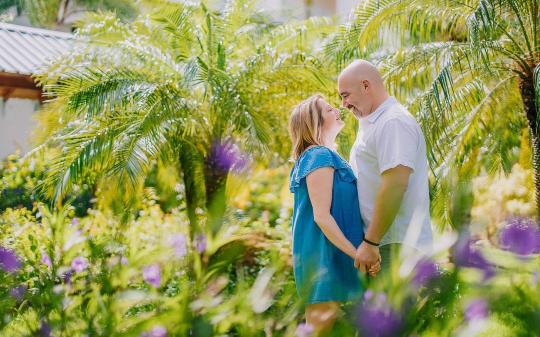 Adorable Reaction to a Surprise Proposal Photoshoot at Hilton La Romana