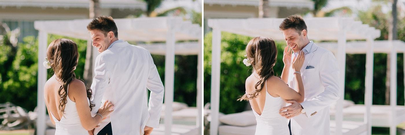 wedding at kukua beach club