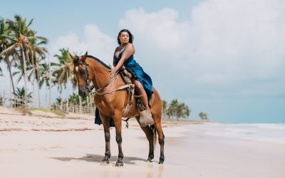Unique Experience: Take Photos with a Horse in Punta Cana!