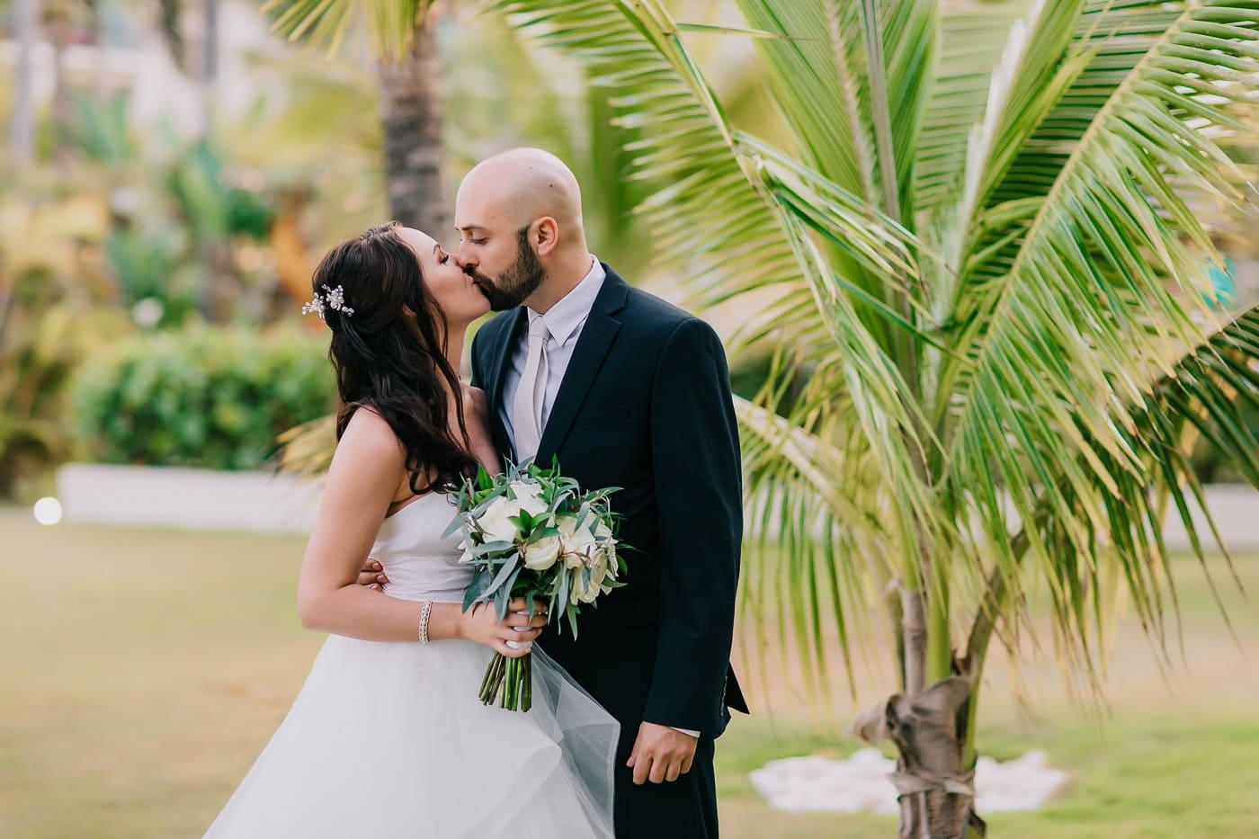 wedding at secrets royal beach