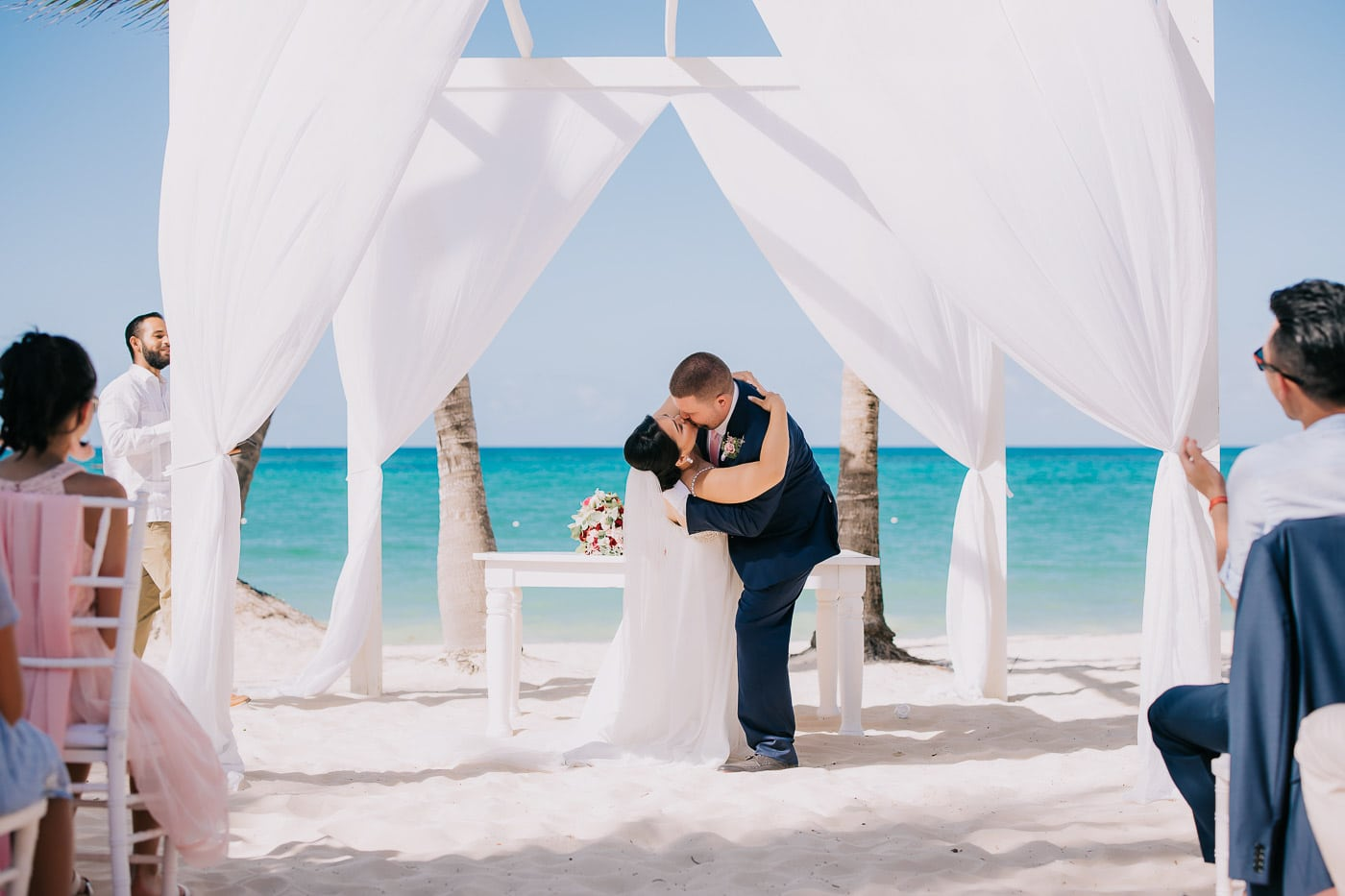 time for a wedding ceremony in punta cana