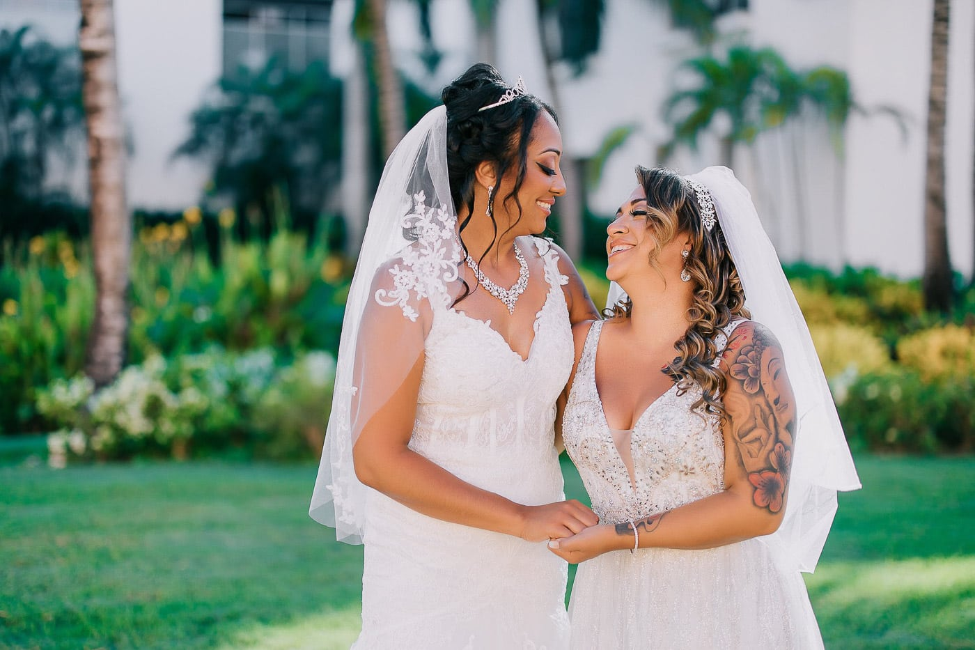 same-sex wedding at hard rock
