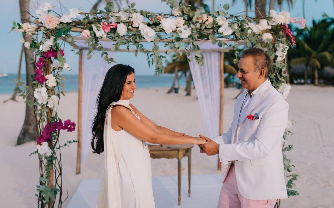 Vow Renewal Ceremony at Jellyfish – Anu & Rajiv