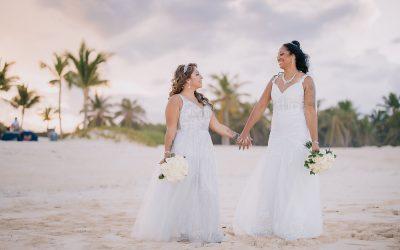 Same-Sex Wedding at Hard Rock Punta Cana – Angel & Raquel