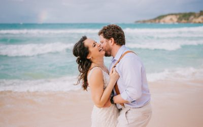 Vow Renewal at Macao Beach - Katie & Dan