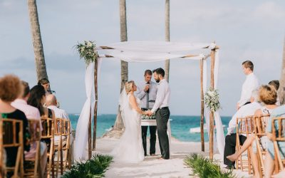 Dreams Palm Beach Punta Cana Wedding - Heidi & Garth