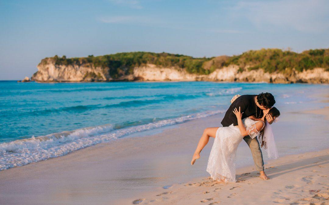 Wedding Photoshoot at Macao Beach – Kensey & Andrew