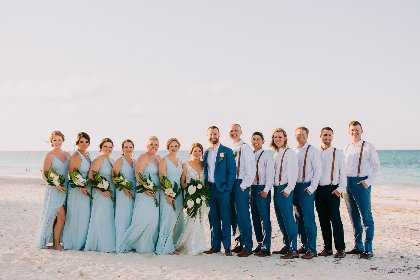How to Choose the Perfect Bridesmaid's Dresses for a Beach Wedding ...