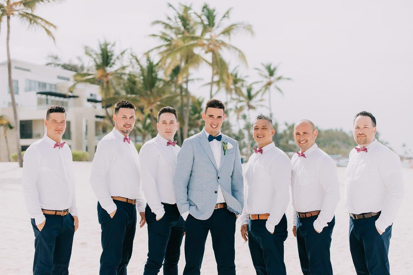 beach wedding in punta cana
