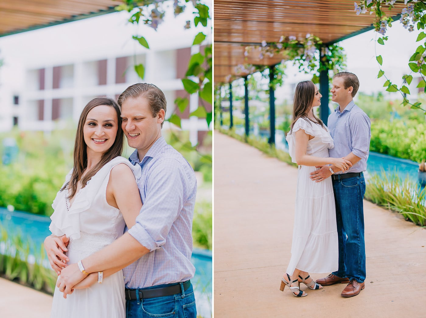 couple's photoshoot in punta cana