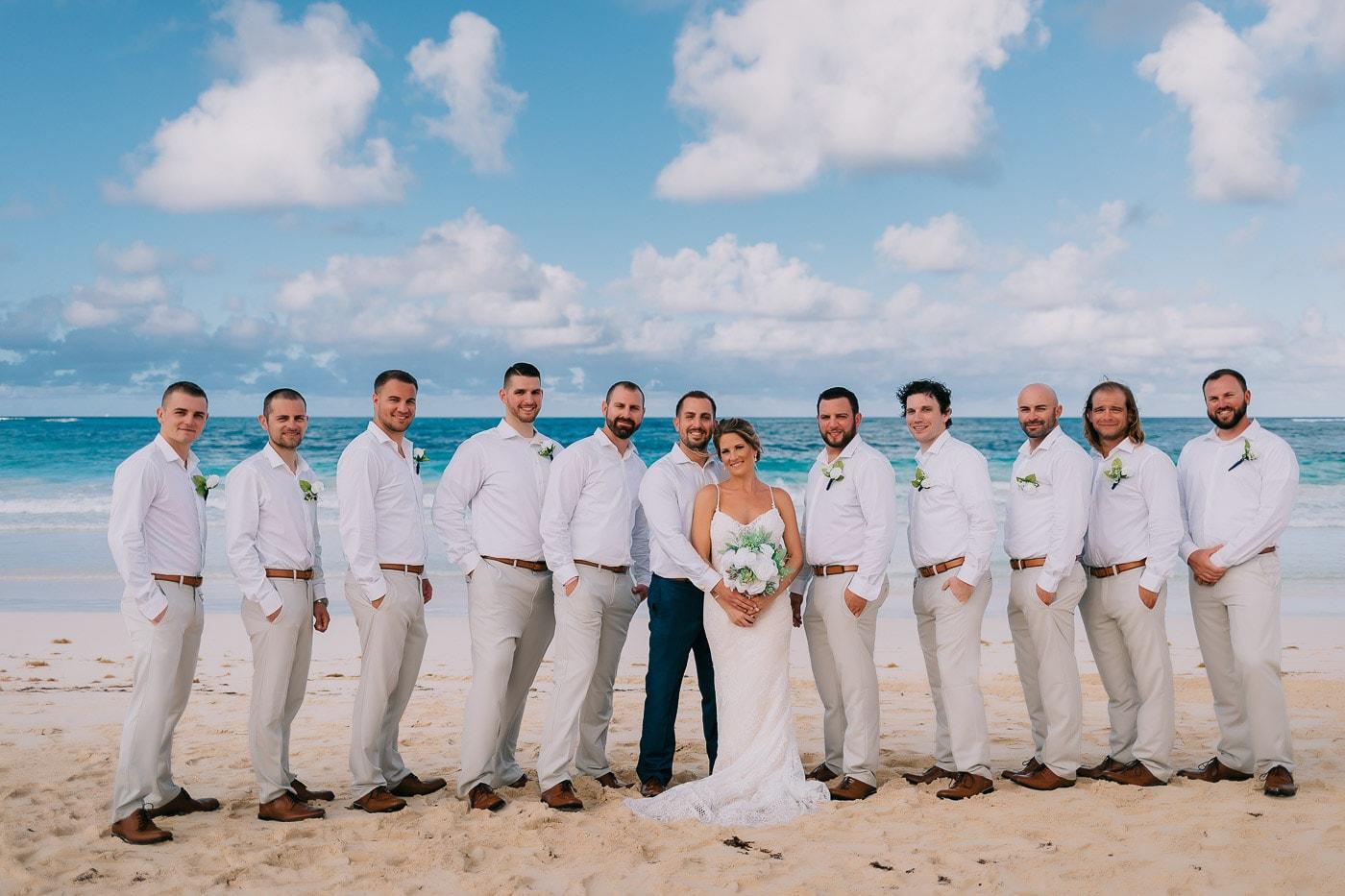 groomsmen attire for a beach wedding